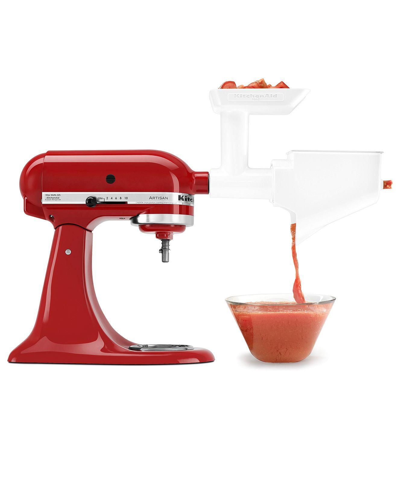 Kitchenaid fvsfga fruit vegetable strainer stand mixer