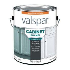Shop Cabinet Enamel interior paint in the paints & primers ...
