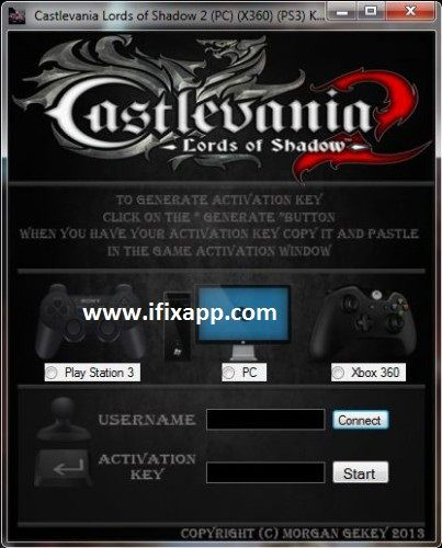 Castlevania Lords Of Shadow 2 Key Generator free download
