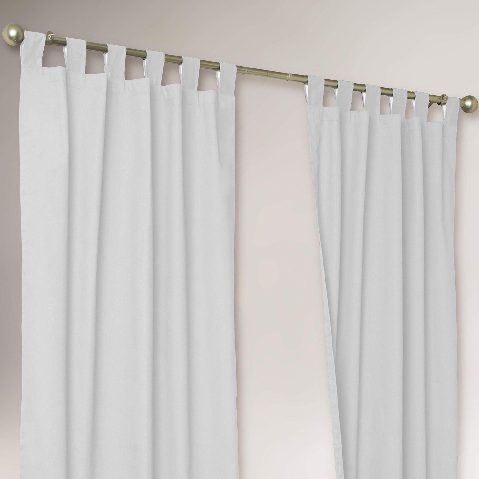 Thermalogic White Weathermate Curtains Set Of 2 World Market