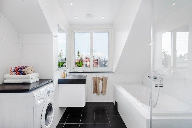 Bildergebnis für bad dachschräge Badezimmer Pinterest Searching - badezimmer dachschrge
