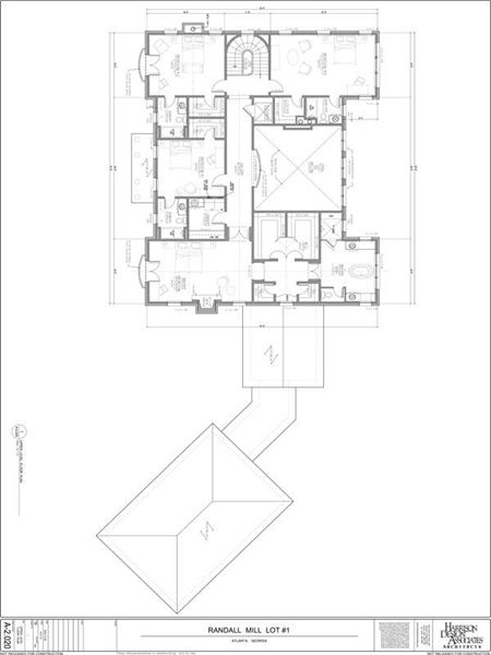 Floorplan Of First Level Italian Style Home Courtyard House Plans Floor Plan Design