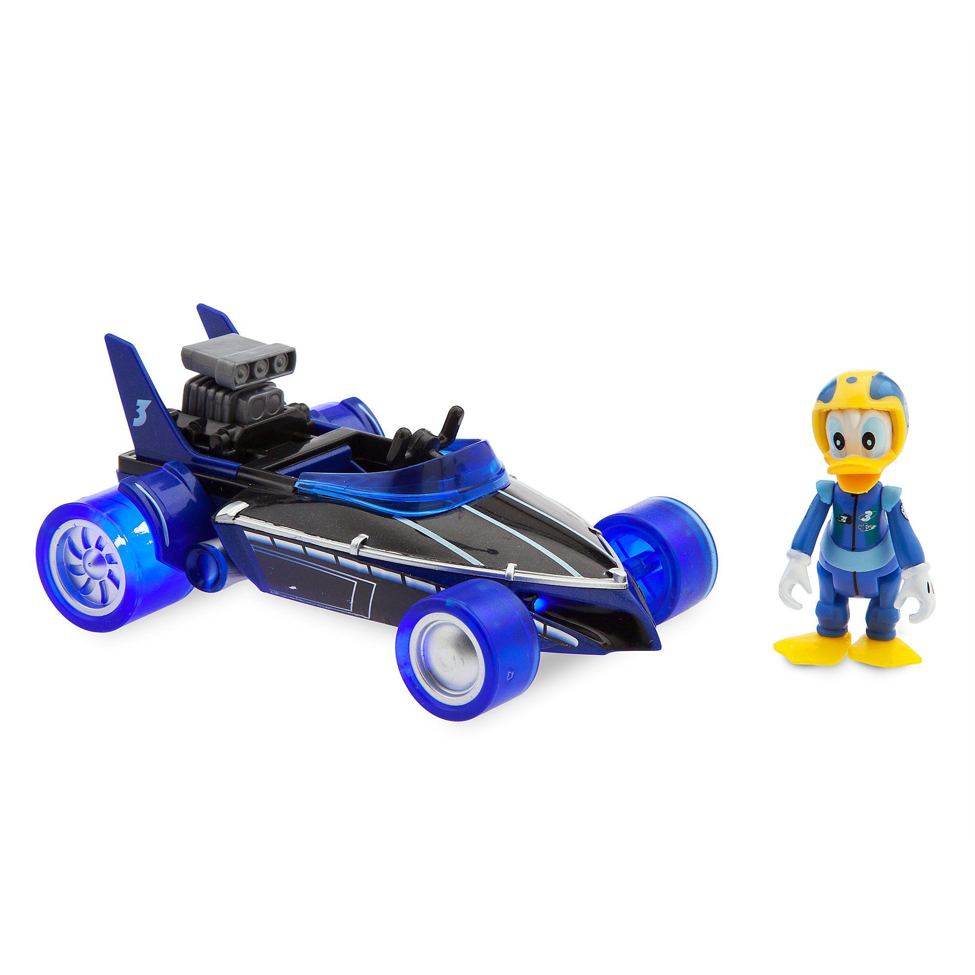 Disney Donald Duck Lightup Racer Mickey And The Roadster Racers