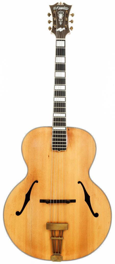 1937 d 39 angelico model b natural archtop acoustic guitar serial 1257 archtop guitars and. Black Bedroom Furniture Sets. Home Design Ideas