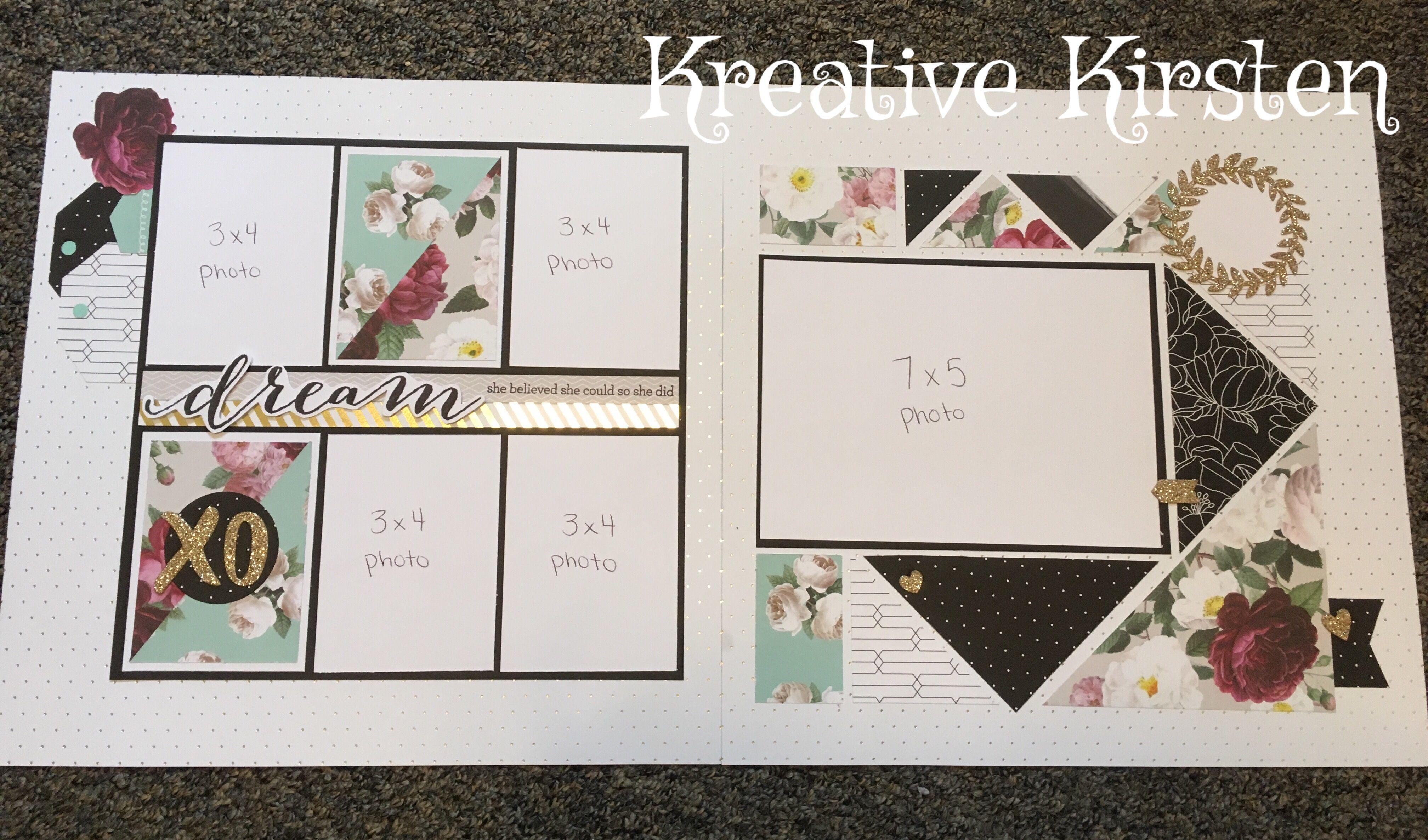 How to scrapbook a wedding invitation - Scrapbook Sketches