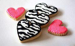 Wild Child Zebra Cookies