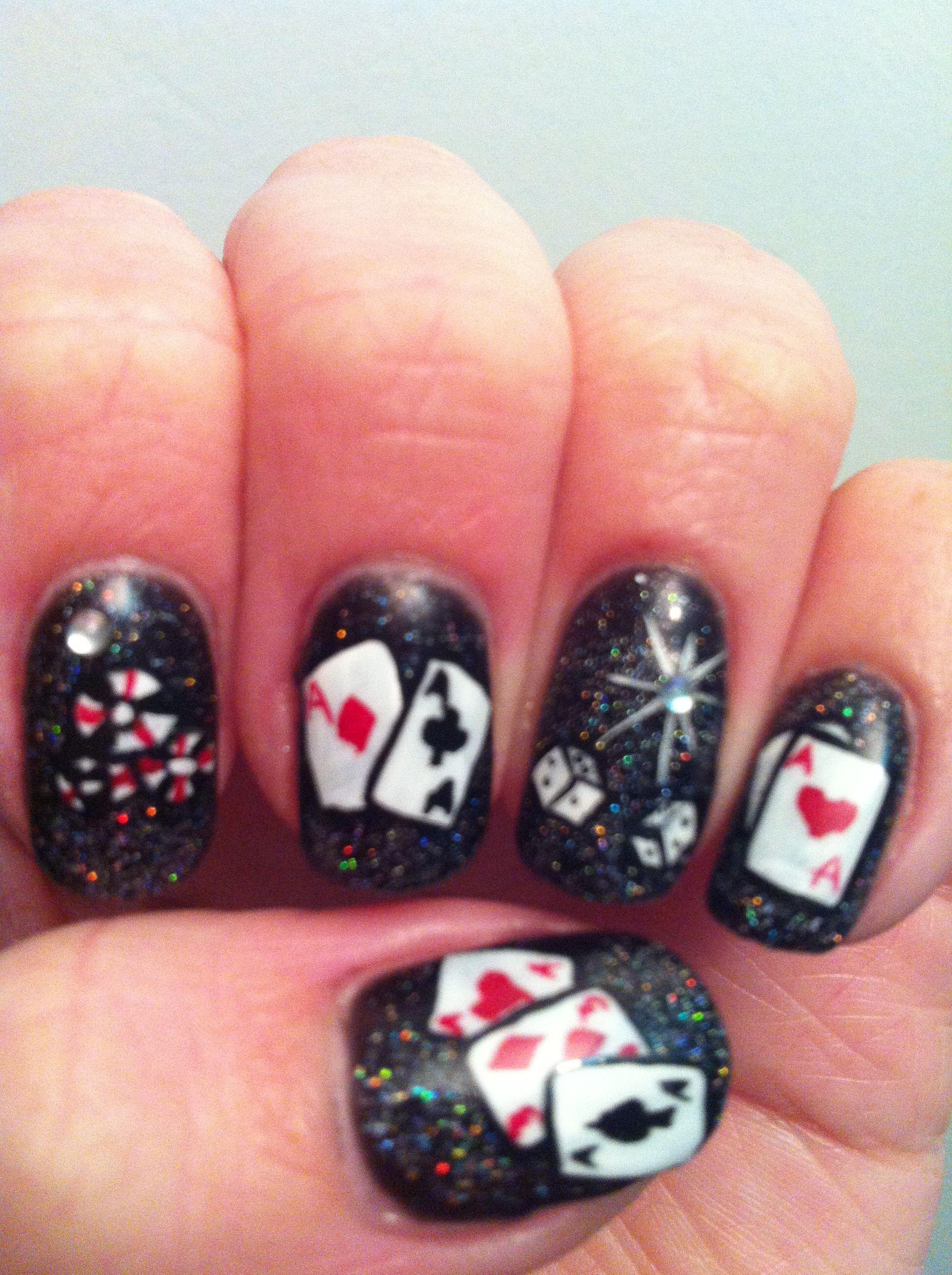 My amazing Vegas nails!