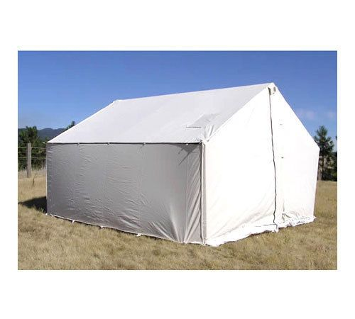 10 X 12 Canvas Wall Tent Water Mildew Treated Wall Tent Canvas Wall Tent Canvas Tent