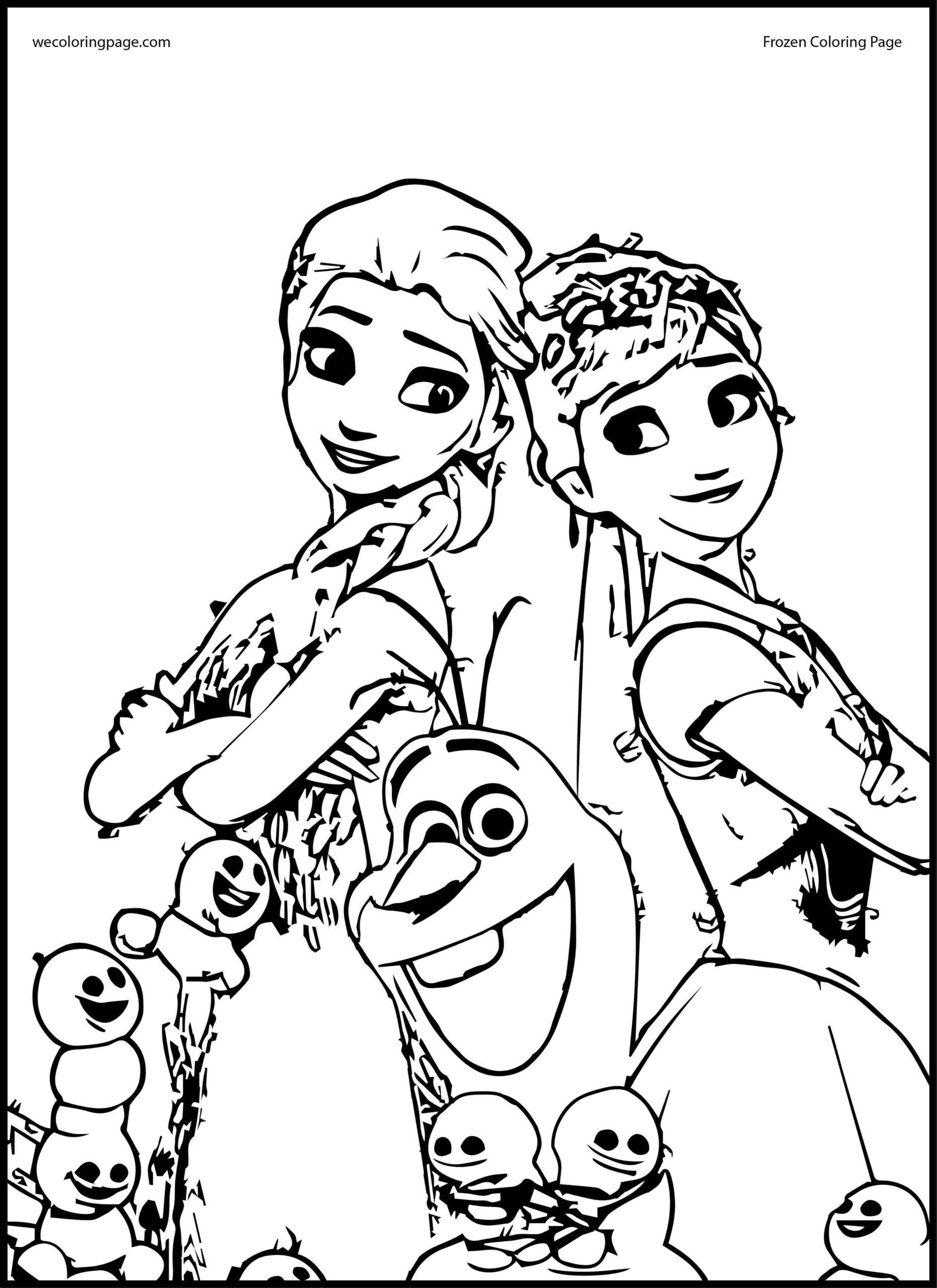 Disney Elsa Coloring Pages Coloring Pages Elsa And Anna