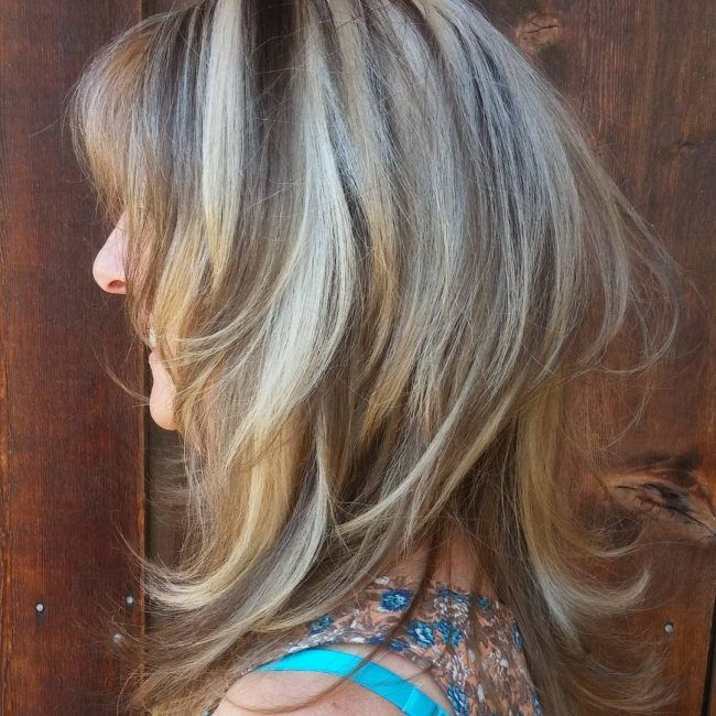 Pale Lights With Dark Lowlights Beauty Pinterest Blonde Hair