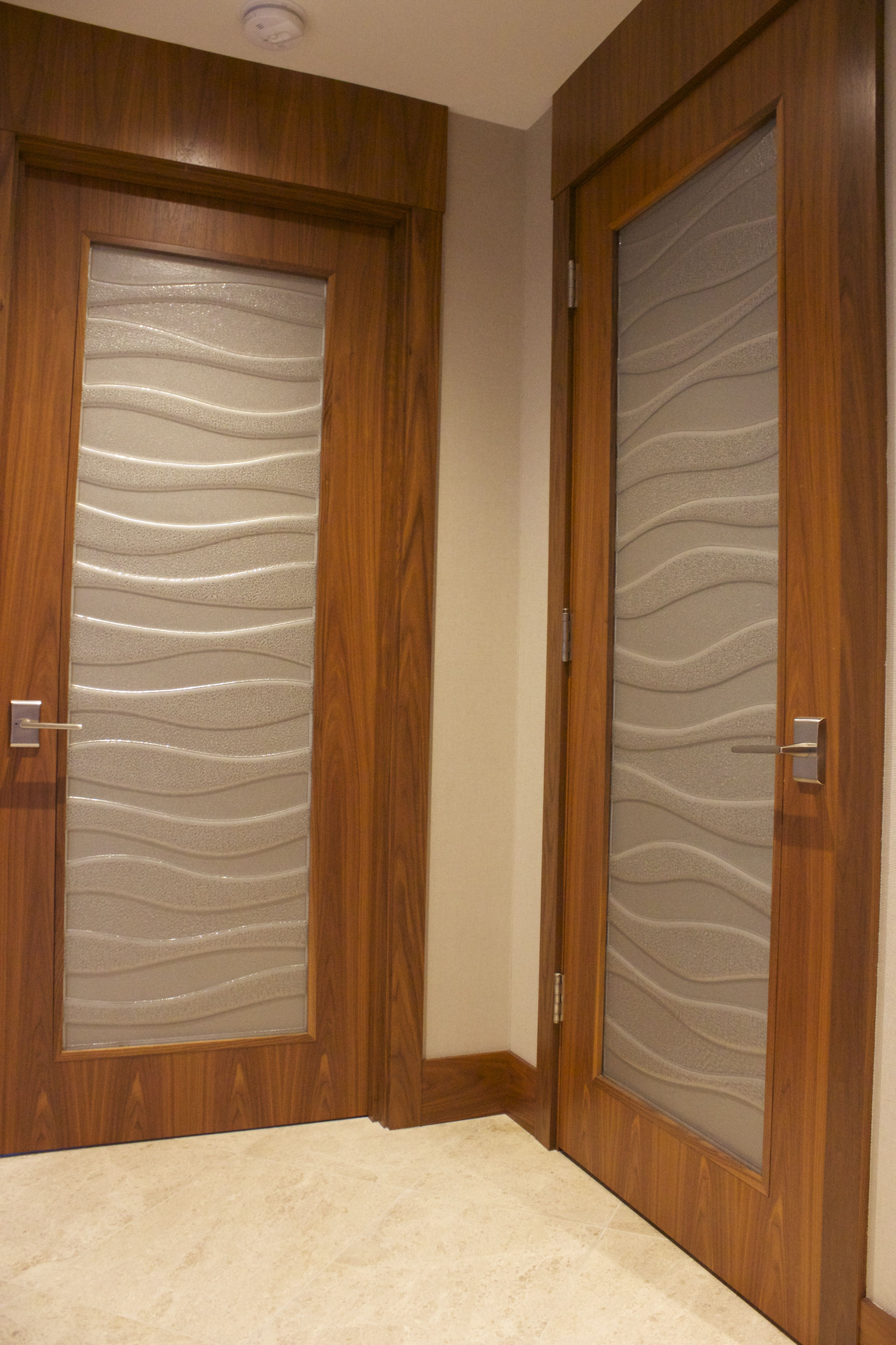 Cast Gl Doors Great For Adding Privacy Like A Typical
