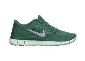 hunter green running shoes nike free