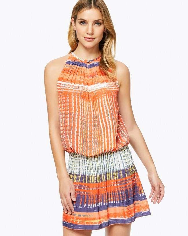 b5addf0d05d7e2 Ramy Brook Printed Paris Sleeveless Dress