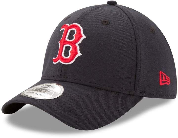 Adult New Era Boston Red Sox Classic Flex Fit Cap Red Sox Hat