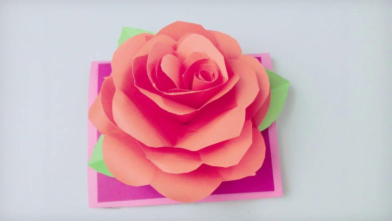 papiers cut and pasted Daisycardcardpostcard cardcard Valentine flower  handmade Card a little..