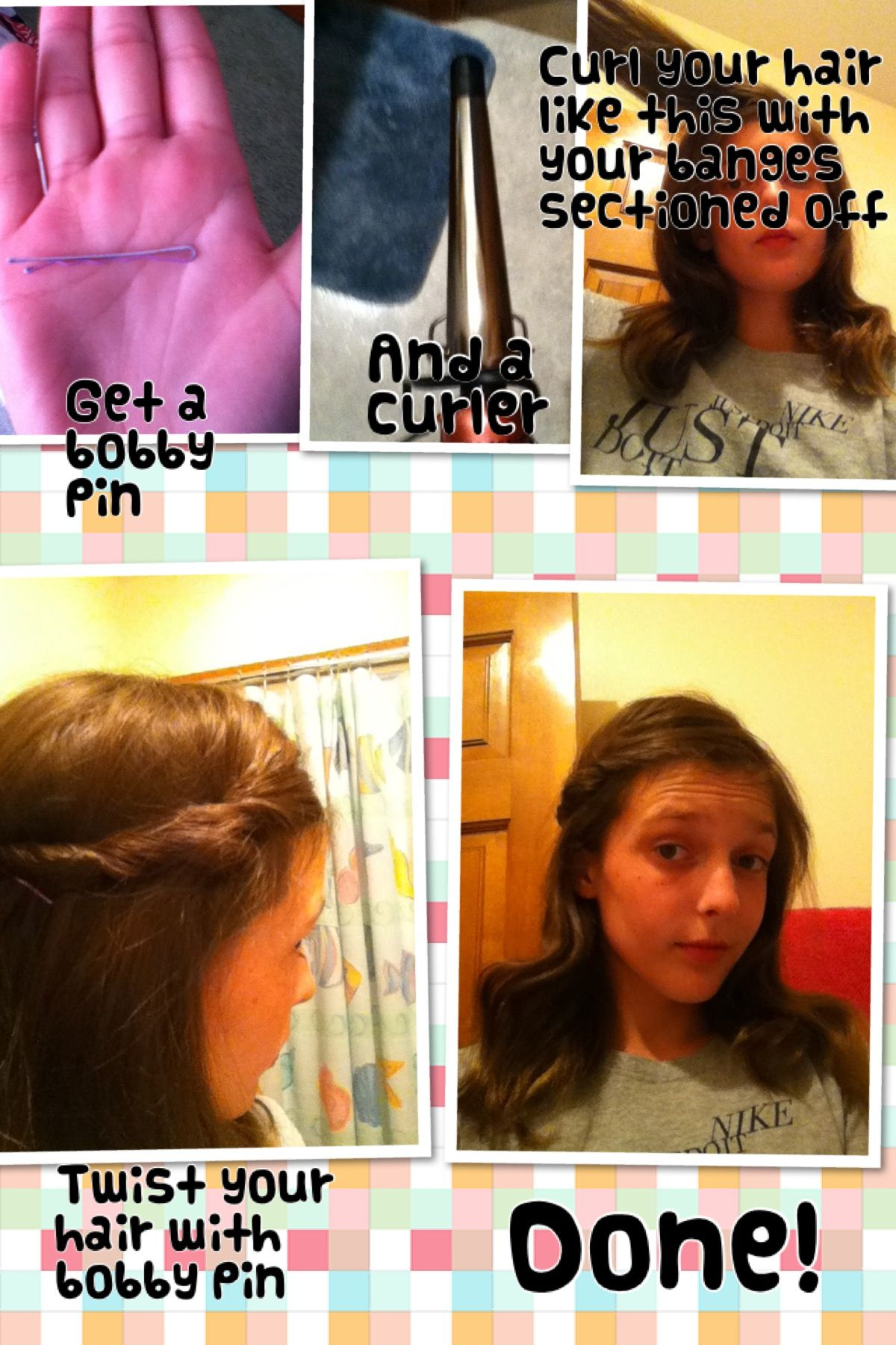 Quick easy hairstyle hair pinterest quick easy hairstyles and