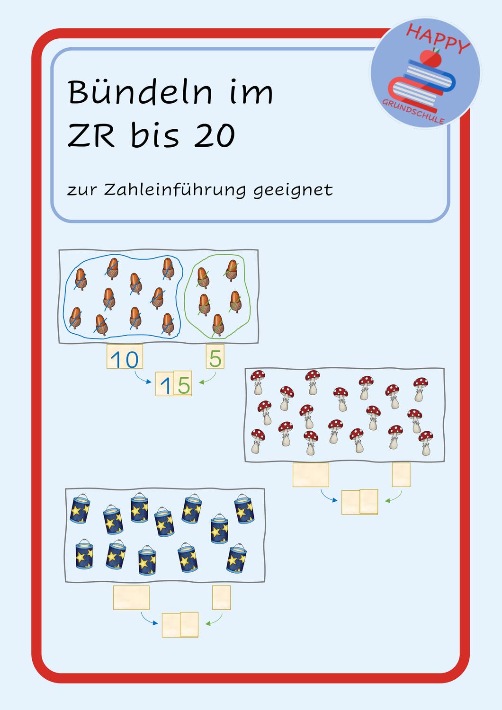 Bündeln im ZR 20   Herbst Zahleinführung – Unterrichtsmaterial ...