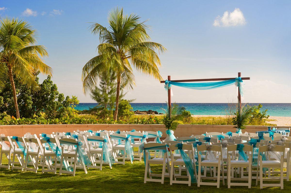 Picture perfect ceremony. Hilton Barbados