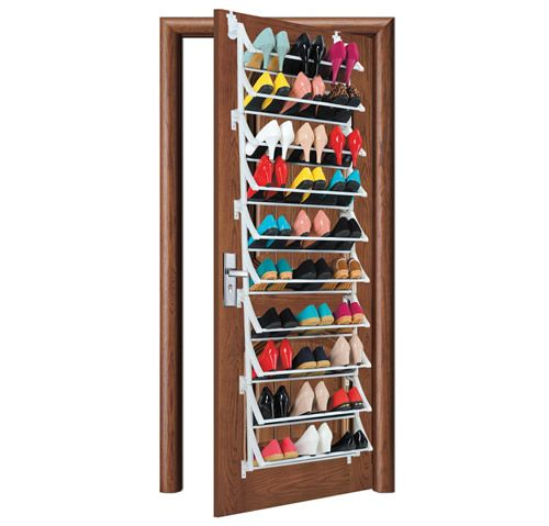 Over Door Shoe Rack...stores Up To 30 Pairs Of Shoes