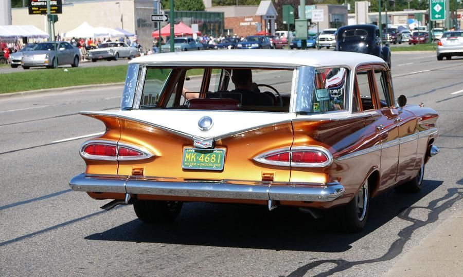 Cats eyes on an old Chevy station wagon. Photo by Spencer Abbott ...