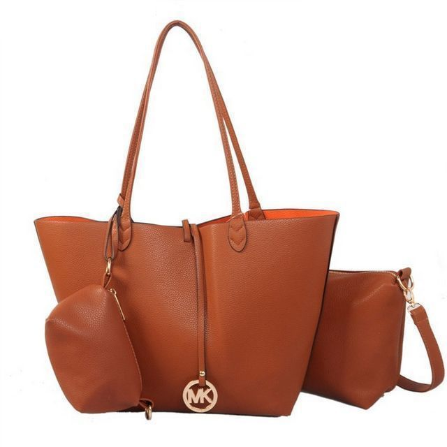Michael Kors Outlet Charm Logo Large Tan Totes -Michael Kors factory outlet  online sale now up to off!