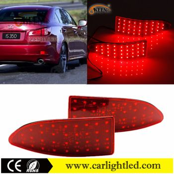 12v Auto Led Car Rear Lamp Red Warning Led Bumper Reflector Light For Lexusis250 Is300 Is350 Backup Taillights View Car Rear Lamp Keen Product Details From Gu Car Led Tail Light Bumpers