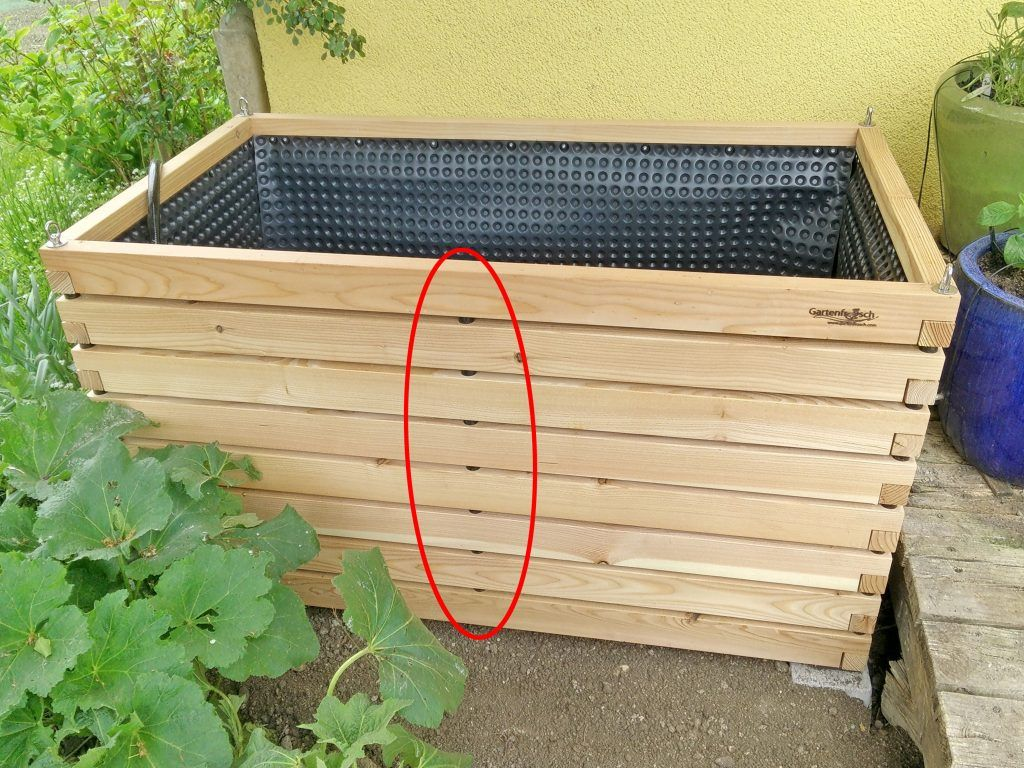 Hochbeet Aus Holz Hochwertig Nachhaltig Asthetisch Schlicht Premium