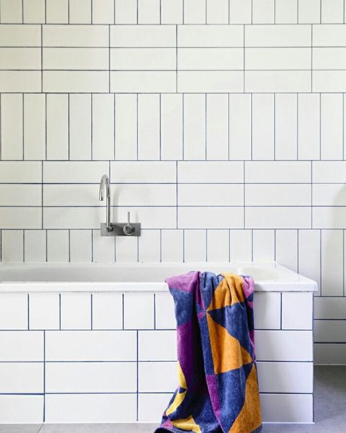 Soudabrooklyn Dohertydesignstudio Bright Blue Grout At Our