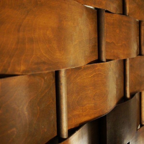 Diy Woven Leather Headboard