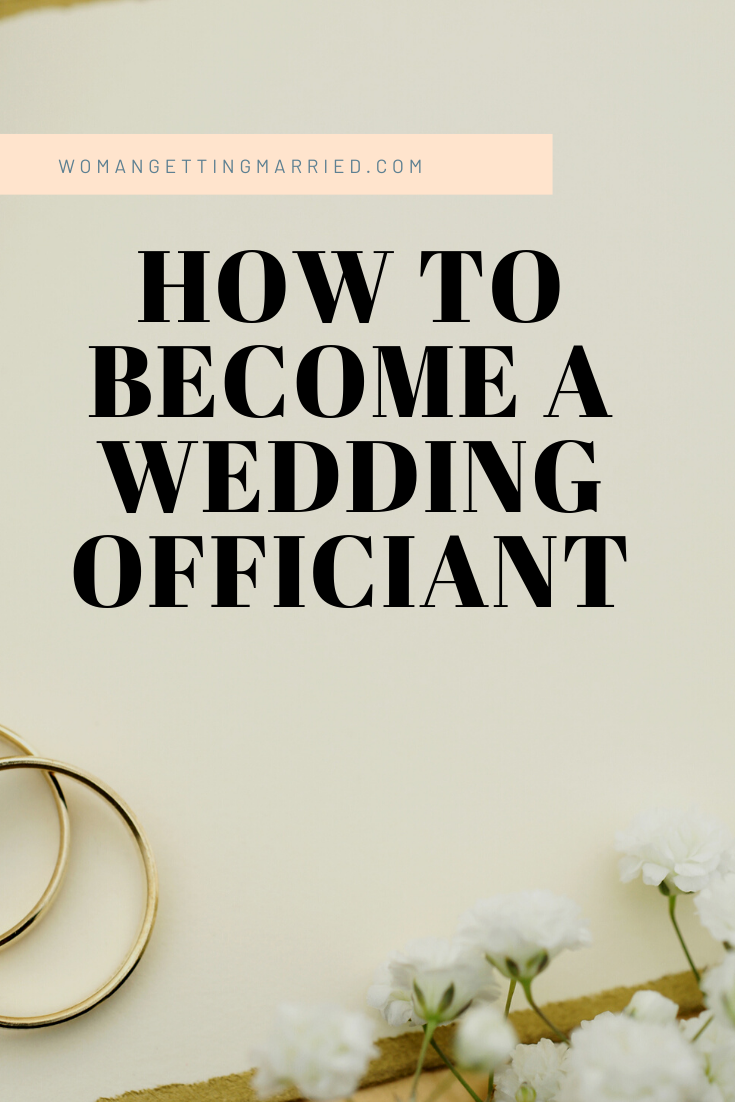 This Is The Easiest Way To Become A Wedding Officiant In 2020 Wedding Officiant Officiants How To Become