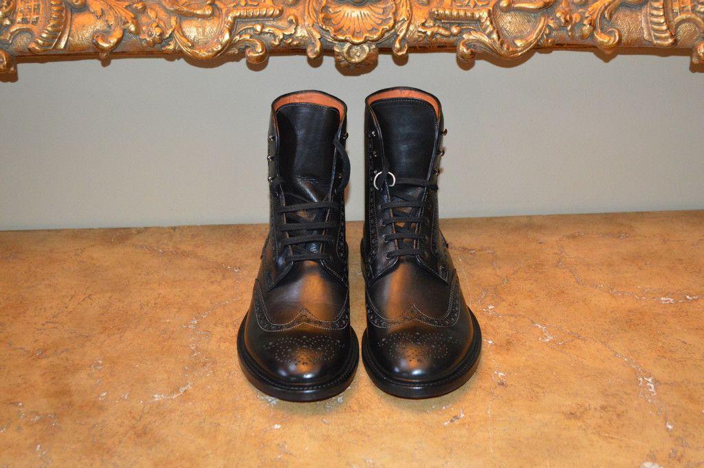 8516517c75c Magnanni Cognac Burnished Leather Hiking Boots | Men's Boots ...