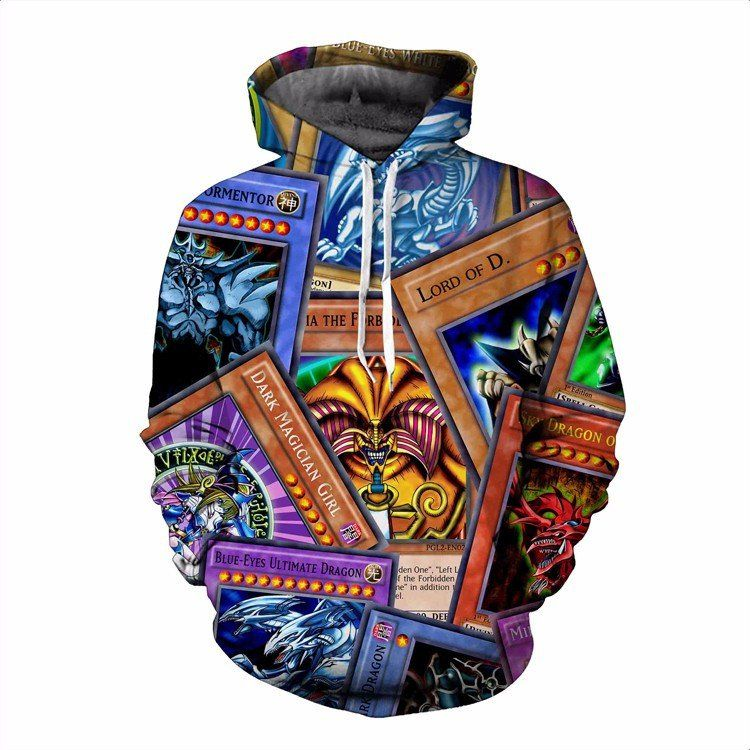 Powerful Highest Attack Yu-Gi-Oh Monster Cards Game Marvelous Hoodie