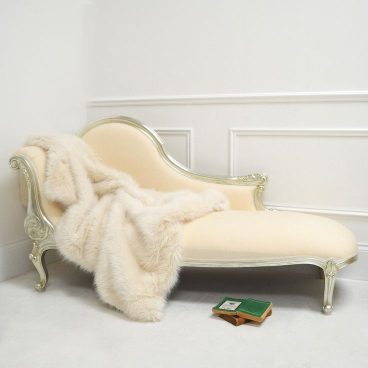 Awesome Chaise Longue Faux Fur Throw Luxury Furniture Living Room Luxury Cushions Chaise Lounge