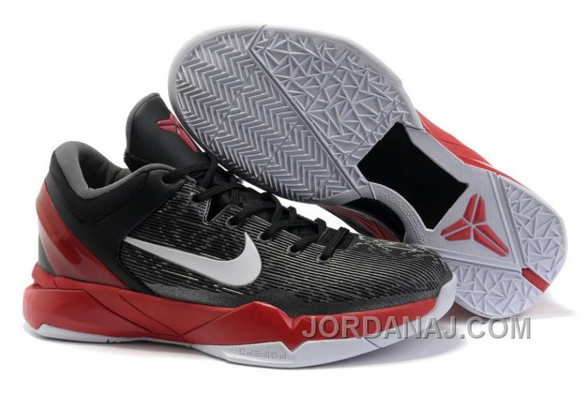 e57a88b7971a5 NIKE ZOOM Kobe Bryant 7 Generations Black Silver Red NZH0584 For Sale