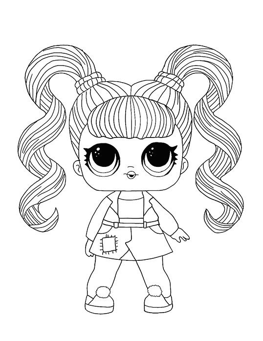 Lol Surprise Coloring Page In 2020 Kids Printable Coloring Pages Unicorn Coloring Pages Cute Coloring Pages