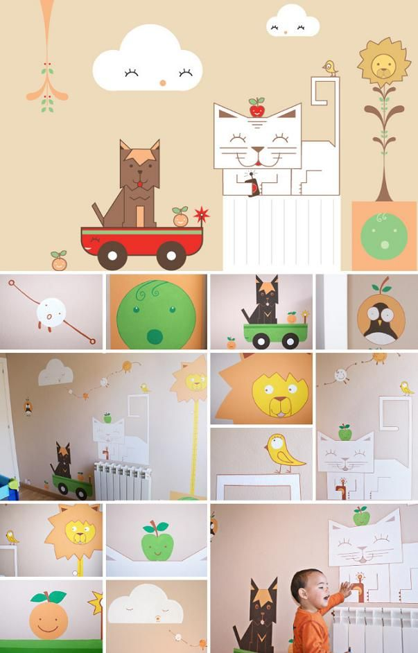Mural personalizado para la habitacin de tu beb Mural