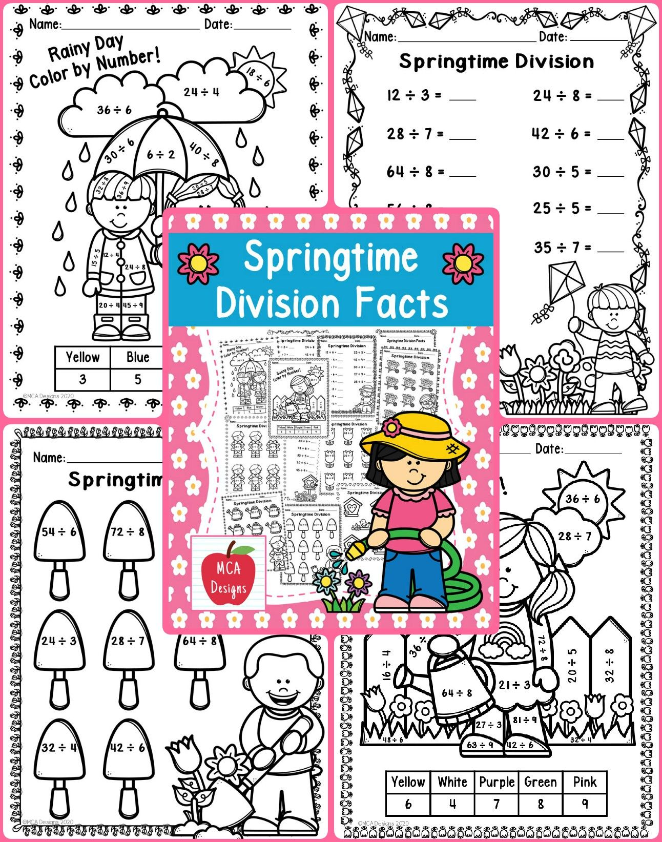 Springtime Division Facts In