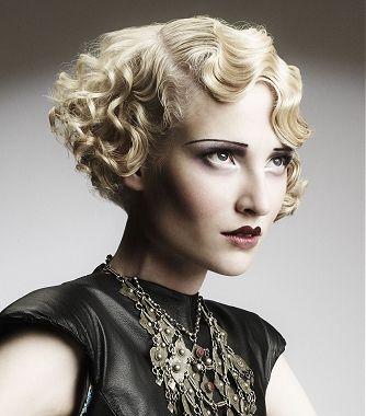 I Just Love That 20s Hair Style Vintage Short Hair Hair Styles 2014 Hair Waves