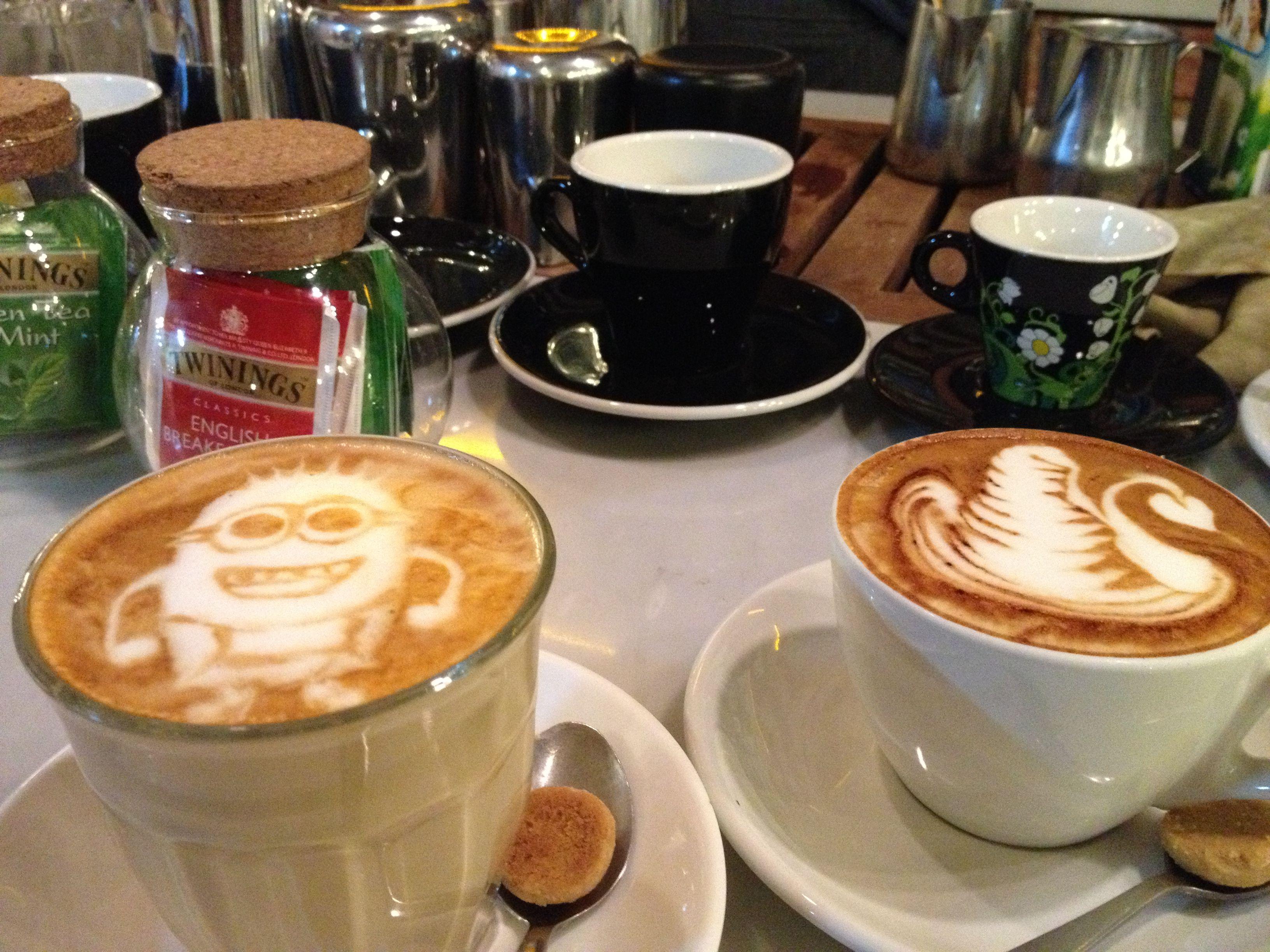 Noah's Barn latte minion & magic phoenix