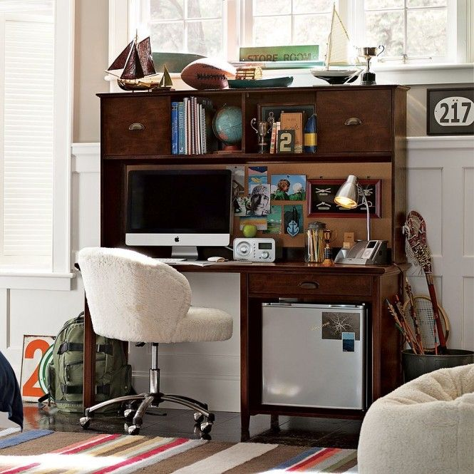 Study space inspiration for teens boys desk