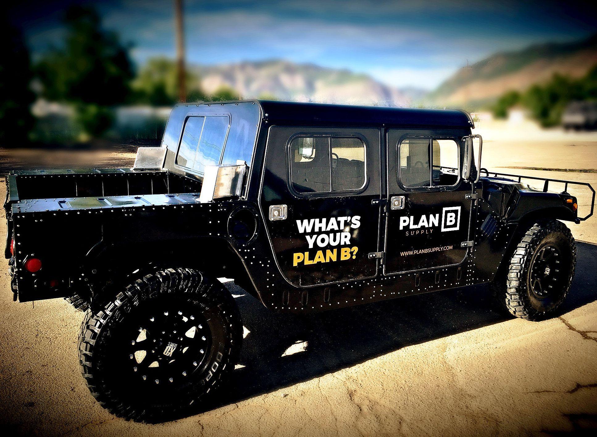 Plan B Supply 6x6 Disaster Trucks And Emergency Gear Trucks Emergency Gear Hummer For Sale