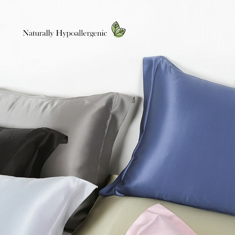Black Oxford Silk Pillowcase In 2019 Mulberry Silk