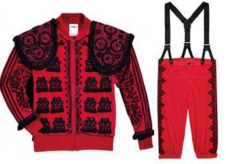 Adidas vestido de luces | Diseño de indumentaria, Jeremy