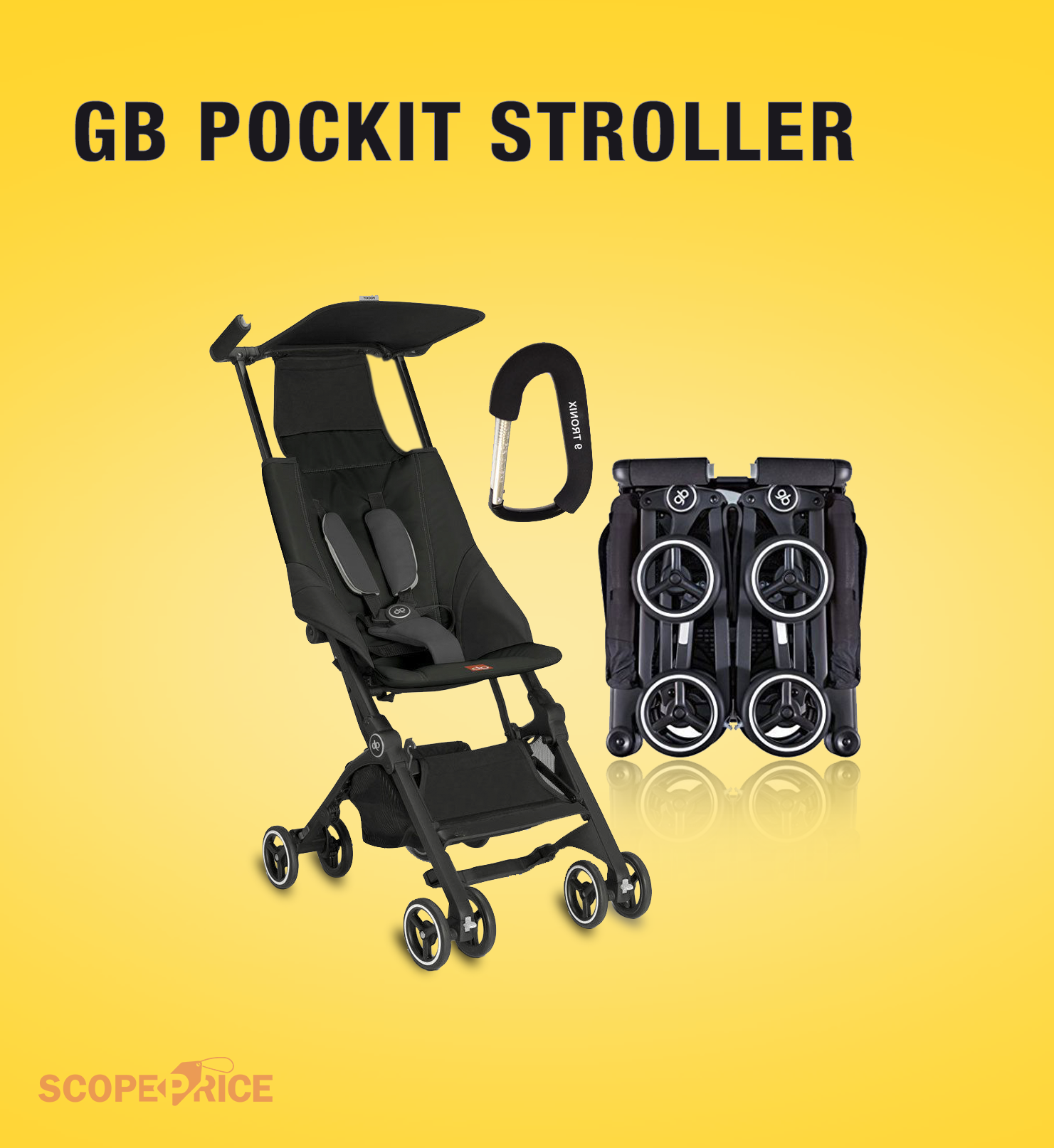 Find the hot deal for gbpockitstroller from Scopeprice