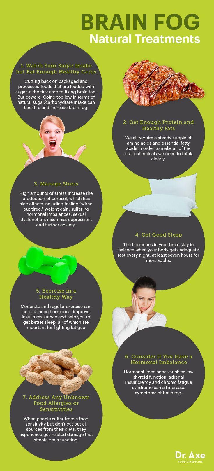 Brain Fog Causes, Symptoms + 7 Natural Treatments | Health, Wellness