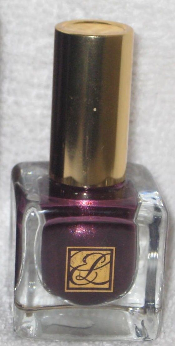Estee Lauder Pure Color Nail Lacquer in Plum Cassis | Nail Polish ...
