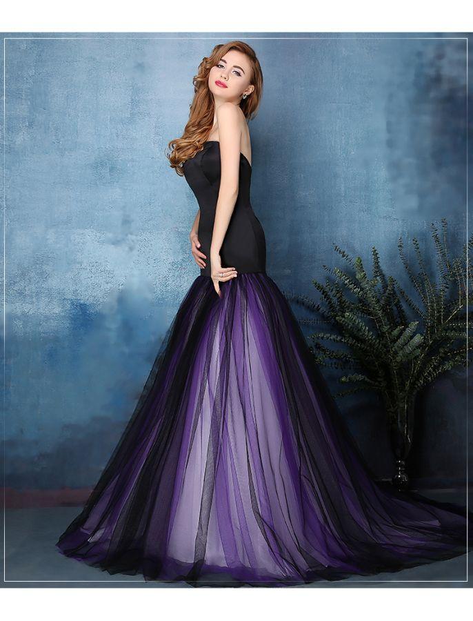 42+ Black and purple wedding dress ideas in 2021
