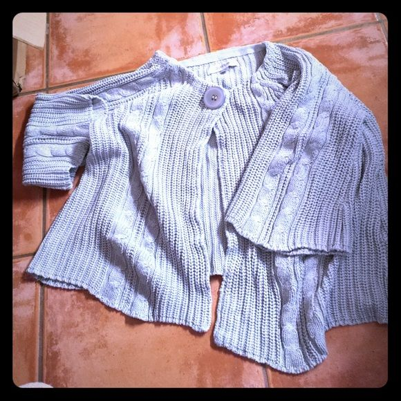 Sweater Gray button Avenue Sweaters