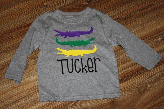 44cd9cadf2f6 Mardi Gras Kids Shirt