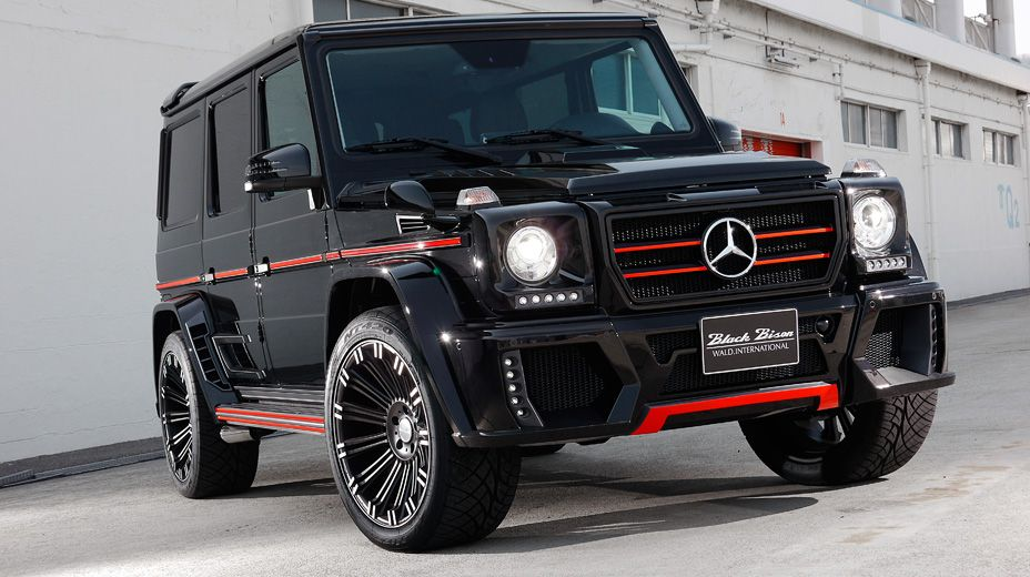 Mercedes Benz G Class W463 Black Bison Edition By Wald With